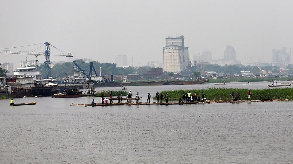 نهر الكونغو في عاصمة الكونغو الديمقراطية كينشاسا (صورة أرشيفية)