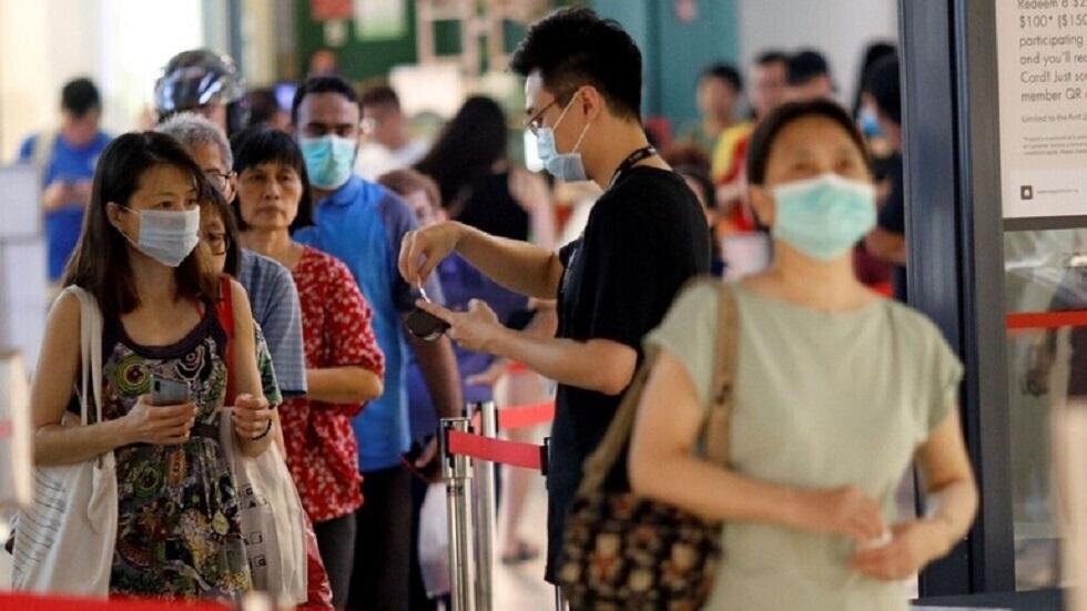 سنغافورة تسجل أعلى زيادة يومية في إصابات كورونا منذ بداية الجائحة