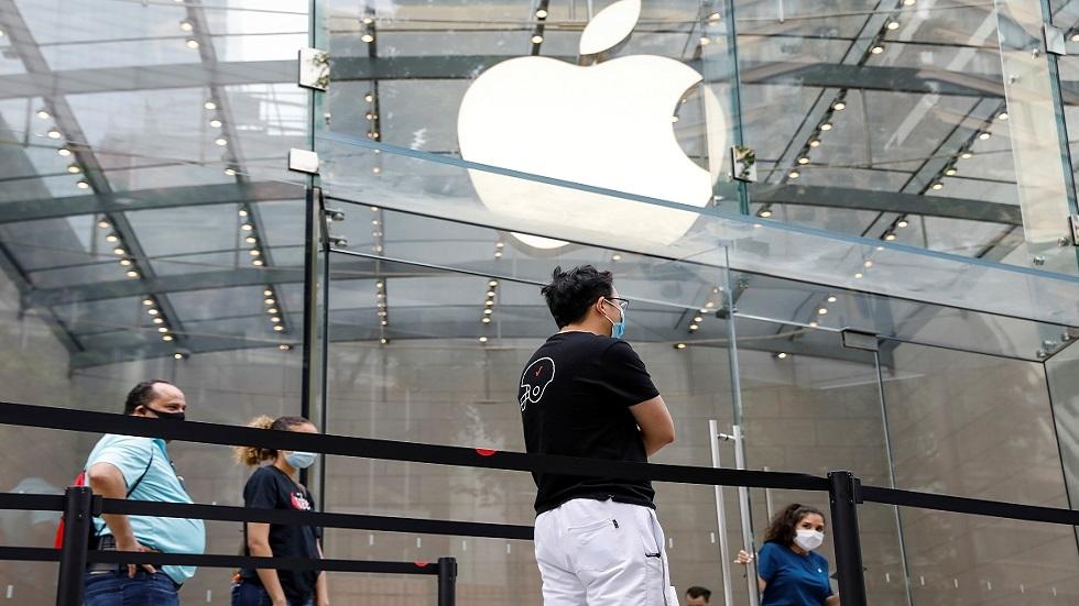 متجر لسلسلة Apple Store في نيويورك (صورة أرشيفية)