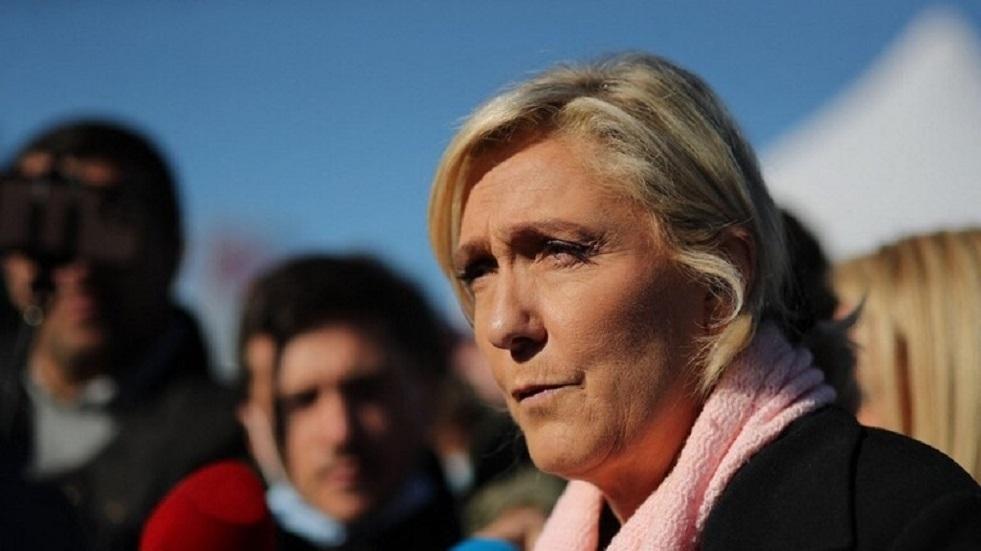 لوبان واثقة من أنها ستصل إلى الجولة الثانية من الانتخابات الرئاسية في فرنسا