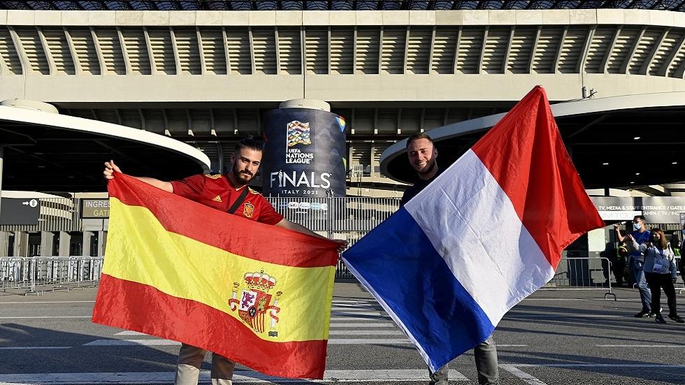 التشكيلة الأساسية لمباراة فرنسا وإسبانيا في نهائي دوري الأمم الأوروبية