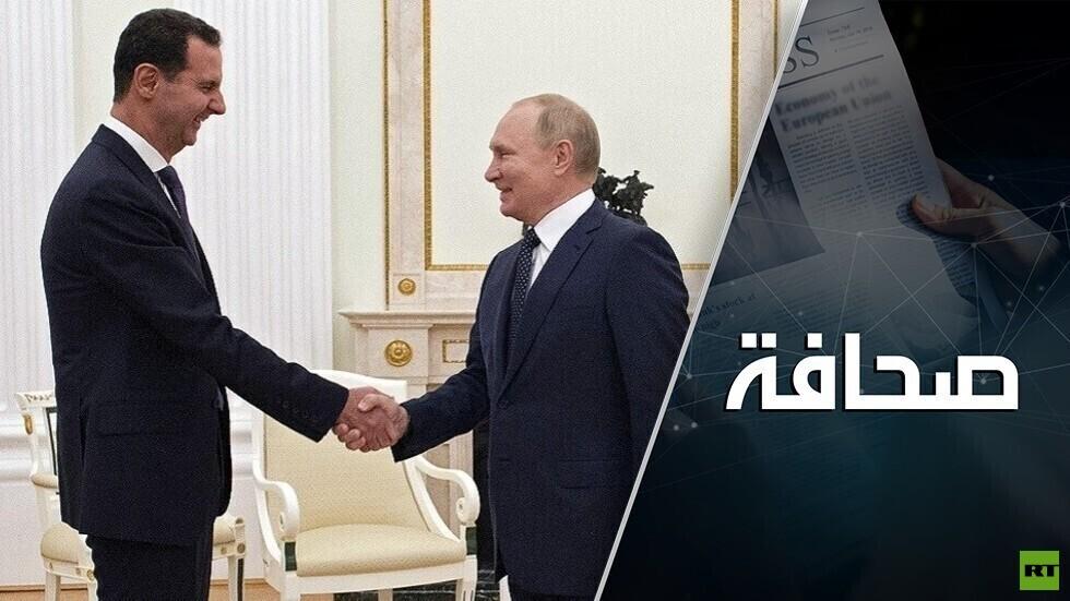 بوتين وبينيت أمام محادثات صعبة حول سوريا