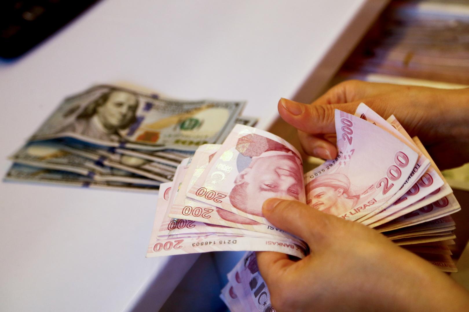 المركزي التركي: من الخطأ ربط ضعف الليرة بخفض أسعار الفائدة