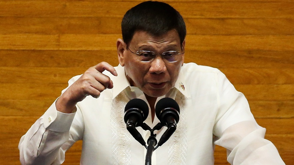 الرئيس الفلبيني رودريغو دوتيرتي (صورة أرشيفية)