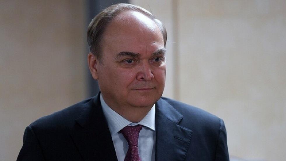 السفير الروسي لدى الولايات المتحدة أناتولي أنطونوف