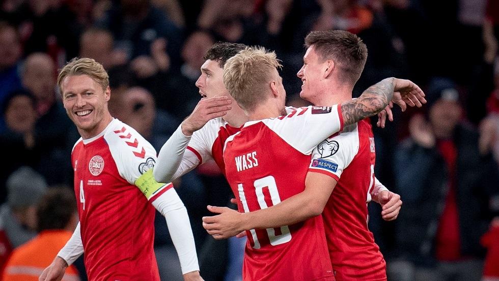 الدنمارك ثاني منتخب أوروبي يبلغ مونديال قطر 2022