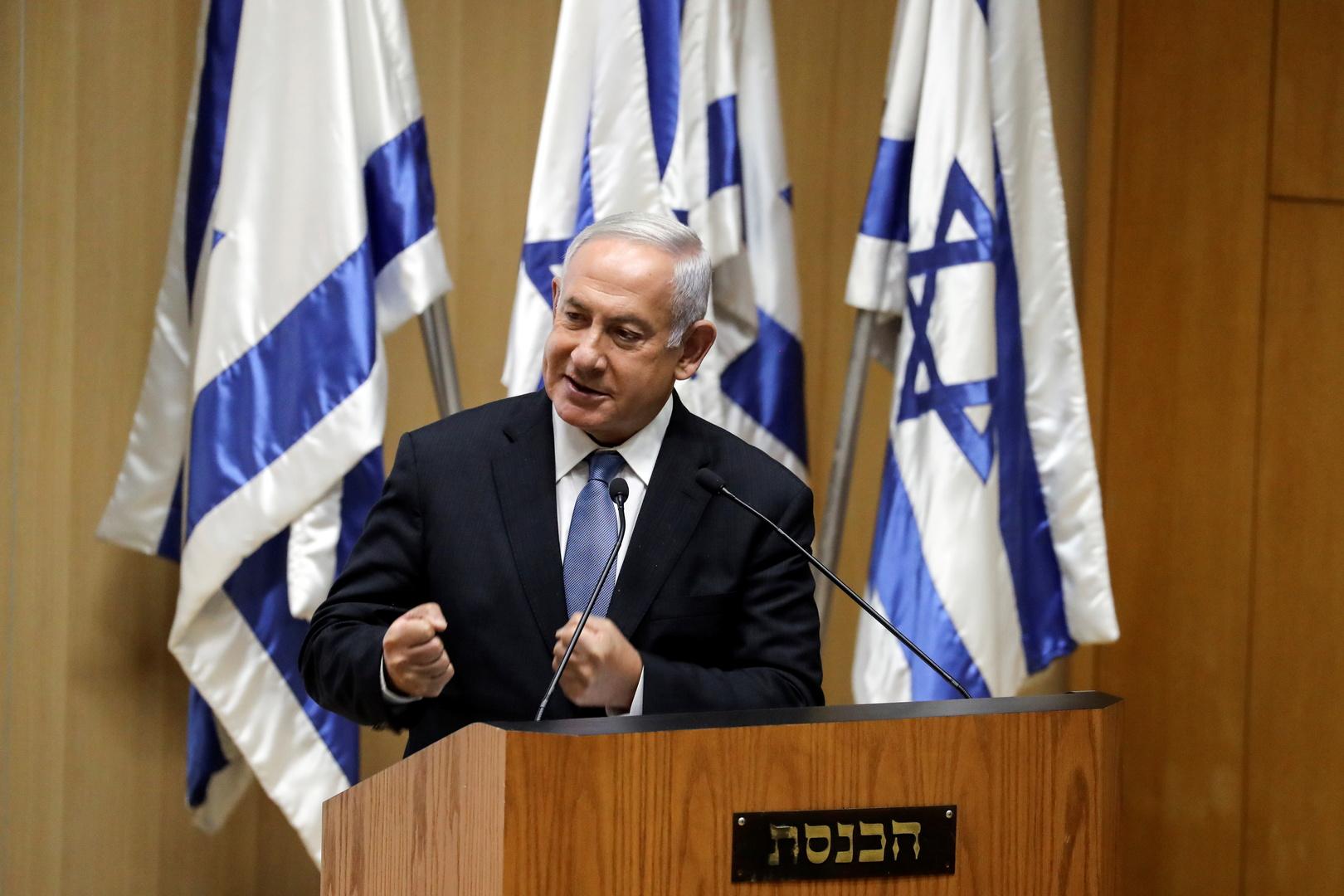 رئيس الوزراء الأسبق، بنيامين نتنياهو