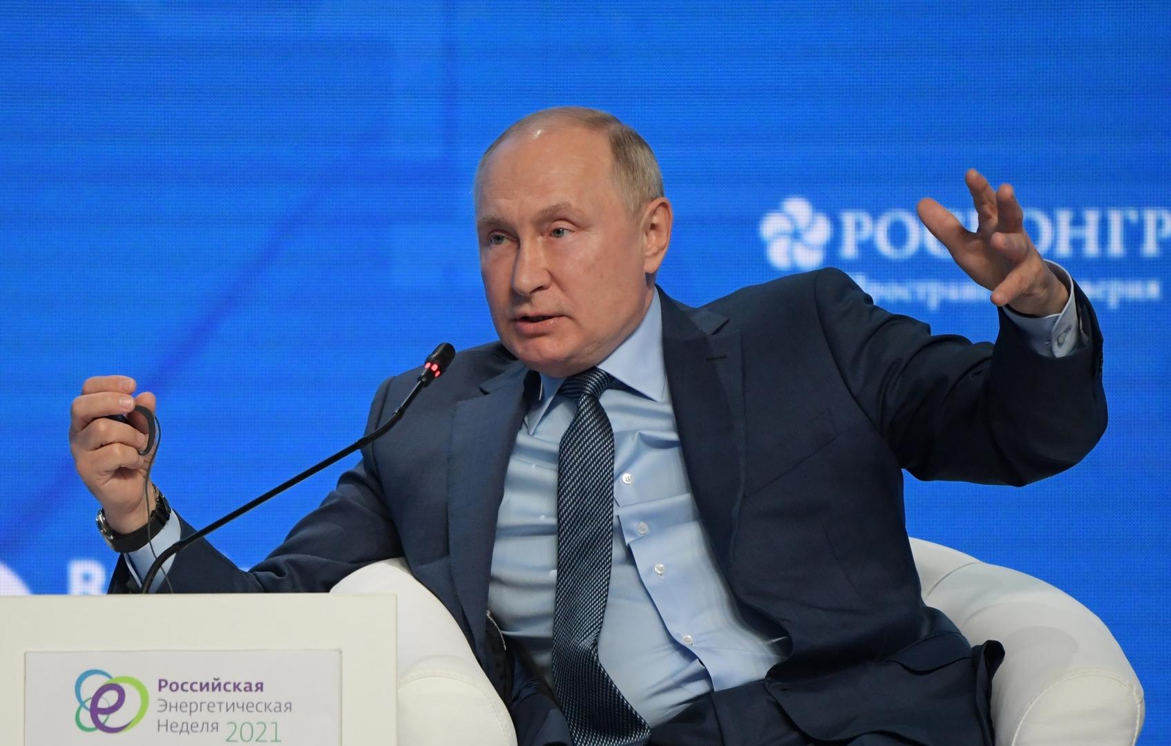 بوتين: قوة الصين الاقتصادية تغنيهاعن استخدام السلاح لتحقيق أهدافها