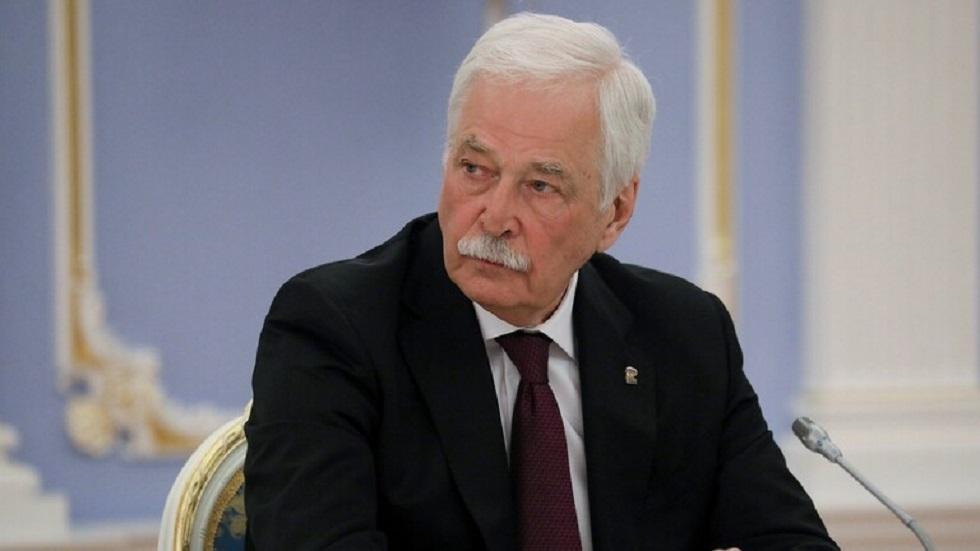 المفوض الروسي في مجموعة الاتصال الخاصة بتسوية النزاع في أوكرانيا بوريس غريزلوف