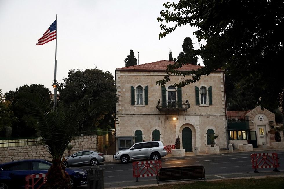 القنصلية العامة الأمريكية في القدس - أرشيف -
