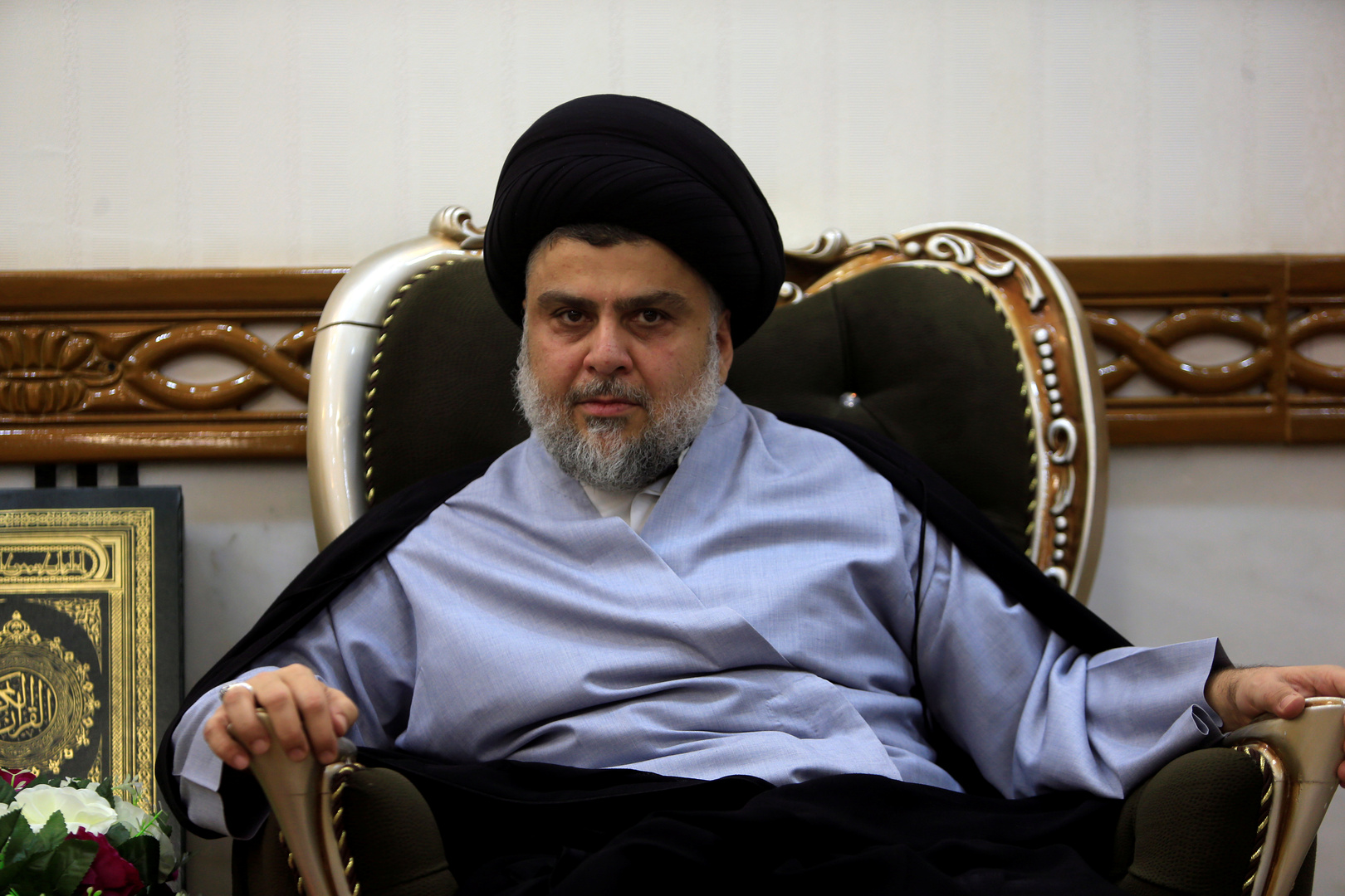 زعيم التيار الصدري في العراق مقتدى الصدر