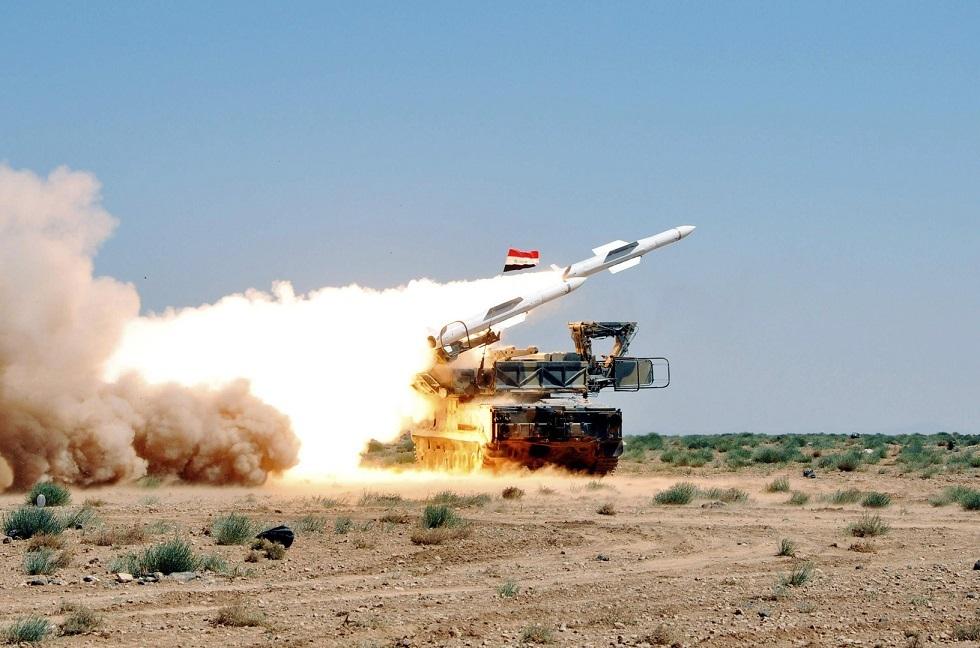 منظومة دفاع جوي سورية - أرشيف -