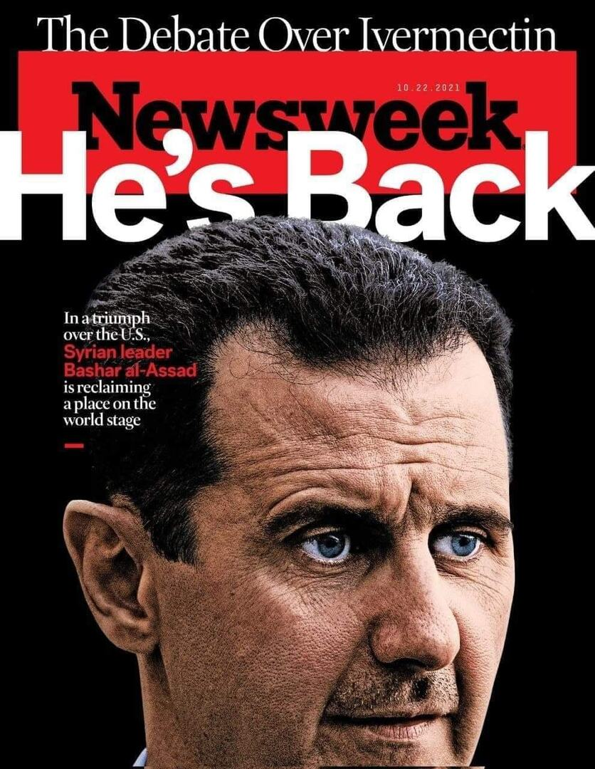نيوزويك الأمريكية عن الأسد: