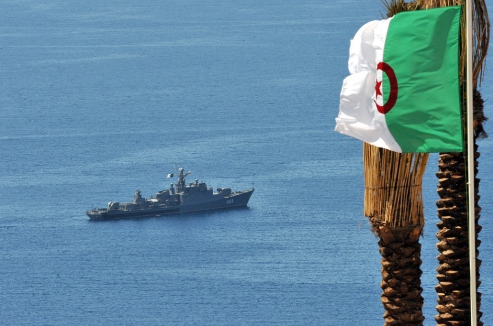 البحرية الجزائرية تعزز أسطولها بسفينة حربية جديدة - صورة من الأرشيف -