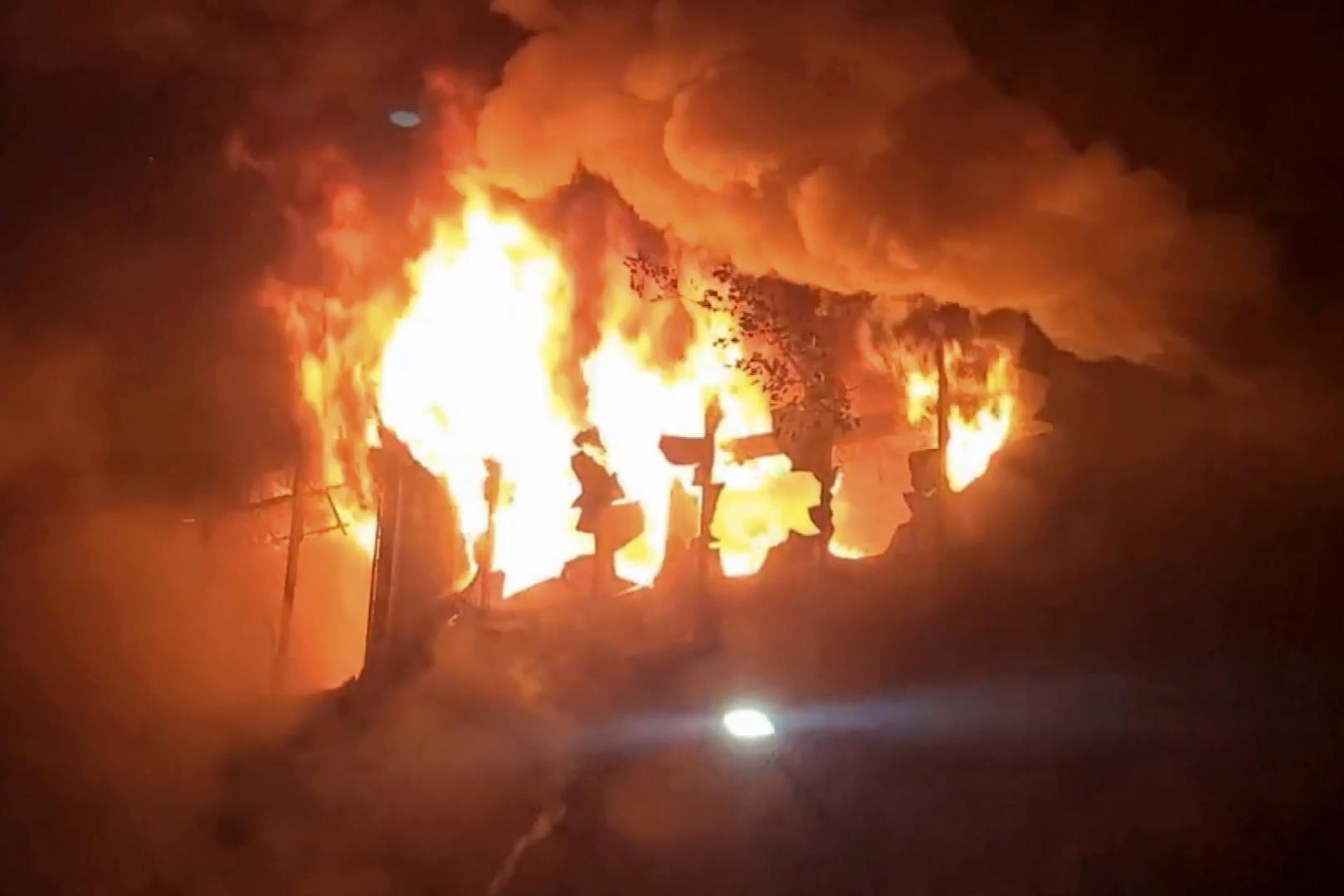 مقتل 25 شخصا وإصابة العشرات في حريق بجنوب تايوان