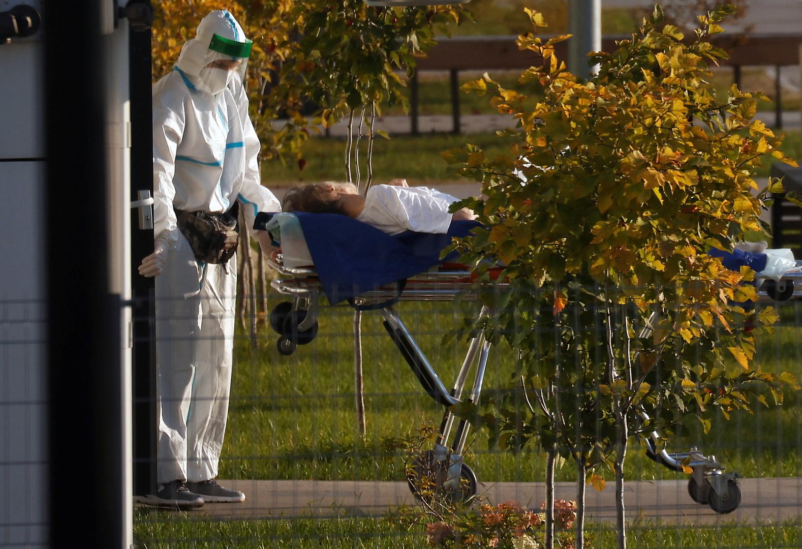 روسيا.. زيادة قياسية في عدد الإصابات بفيروس كورونا