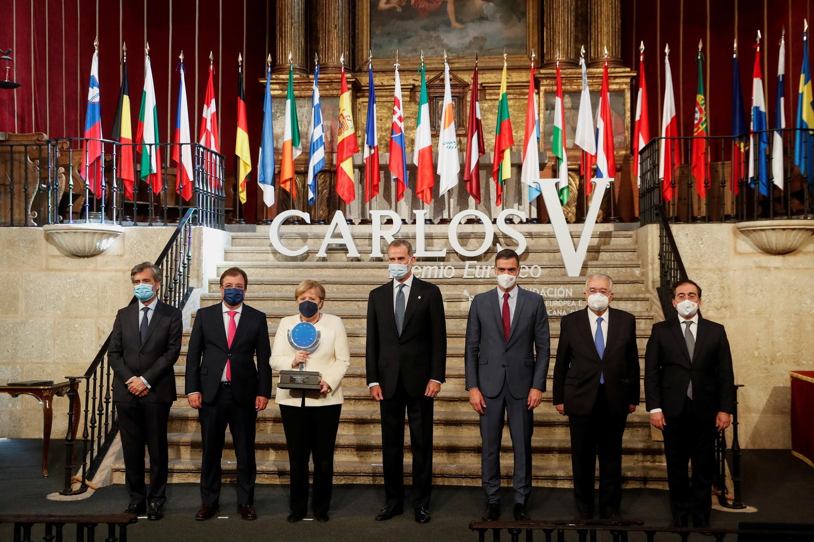ميركل: أوروبا يمكنها التعامل مع صعود الصين بشرط!