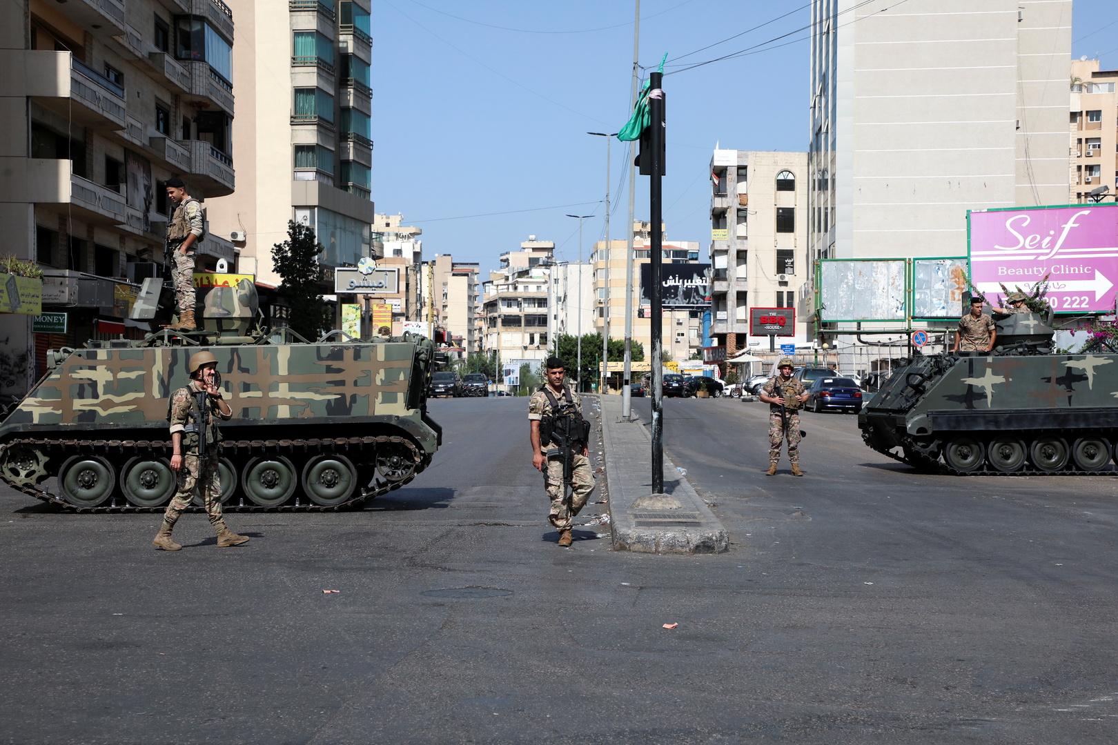 الاتحاد الأوروبي يحمل السياسيين في لبنان مسؤولية تطورات الأوضاع في البلاد