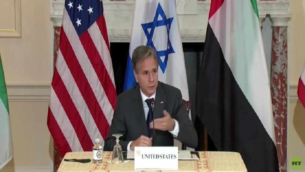 بلينكن: ننظر في كل الخيارات للتعامل مع إيران