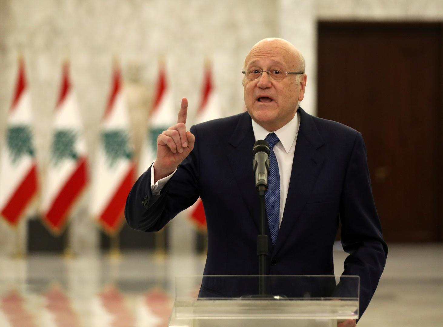 أول تعليق من رئيس وزراء لبنان على أحداث بيروت