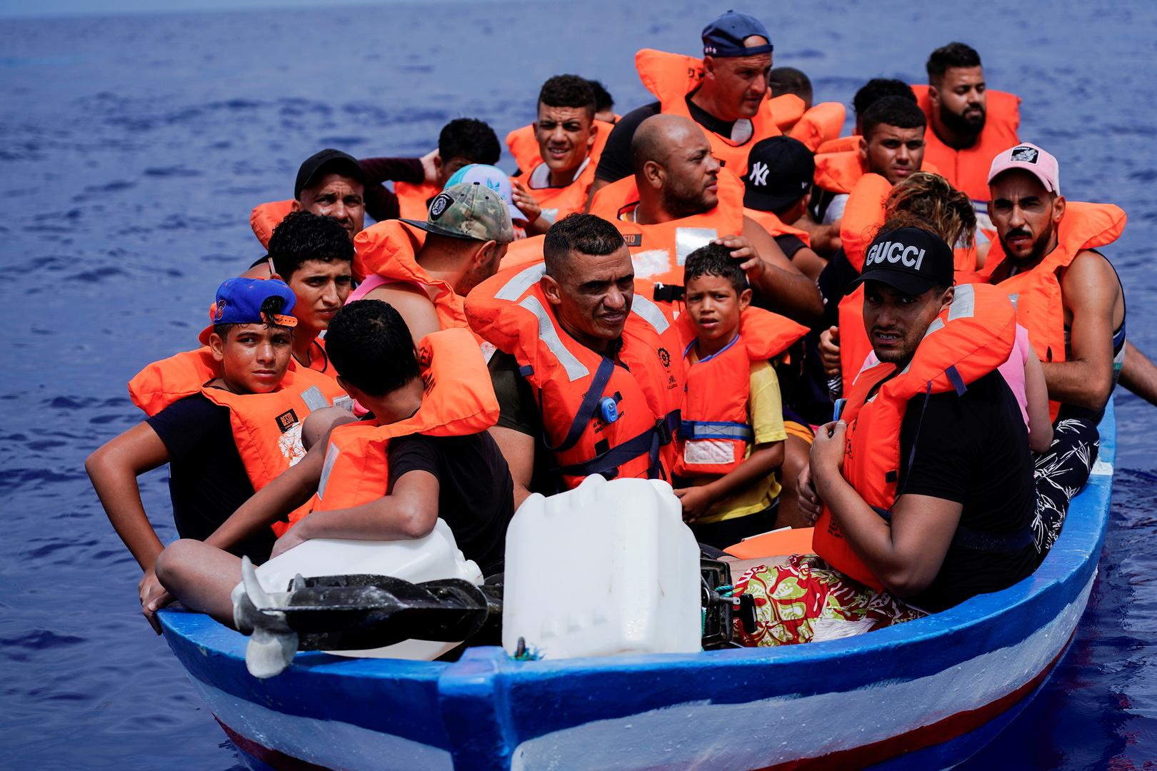 مصادر أمنية إيطالية تعلن إنقاذ 84 مهاجرا قبالة سواحل صقلية