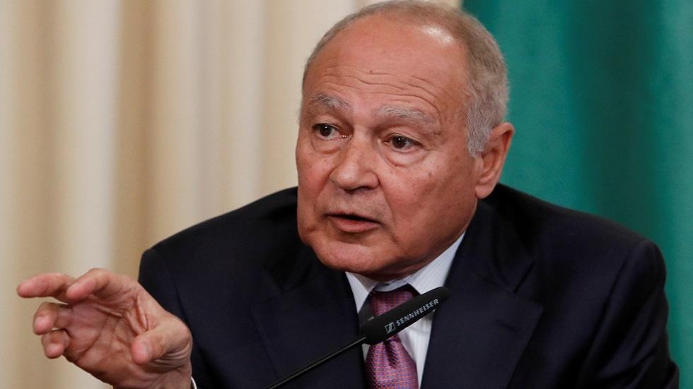 أبو الغيط يستقبل المبعوث الأممي لسوريا ويؤكد على أهمية الحل السياسي