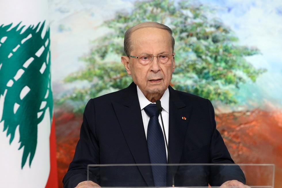 الرئيس اللبناني: ما حدث في بيروت اليوم أمر غير مقبول