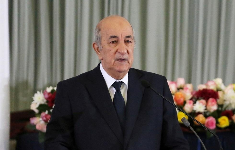 الرئيس الجزائري يعزي عائلة عسكري توفي إثر
