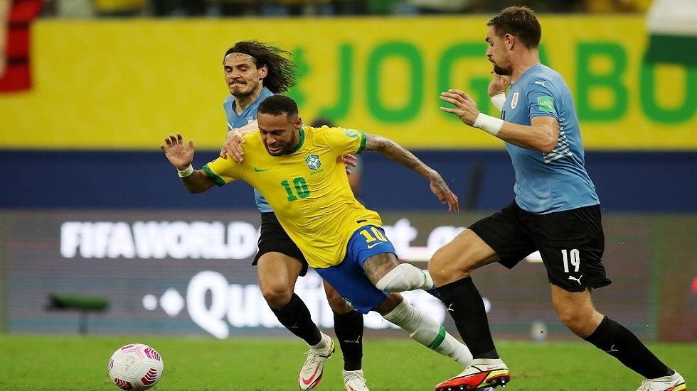 البرازيل تقسو على أوروغواي برباعية في تصفيات مونديال قطر