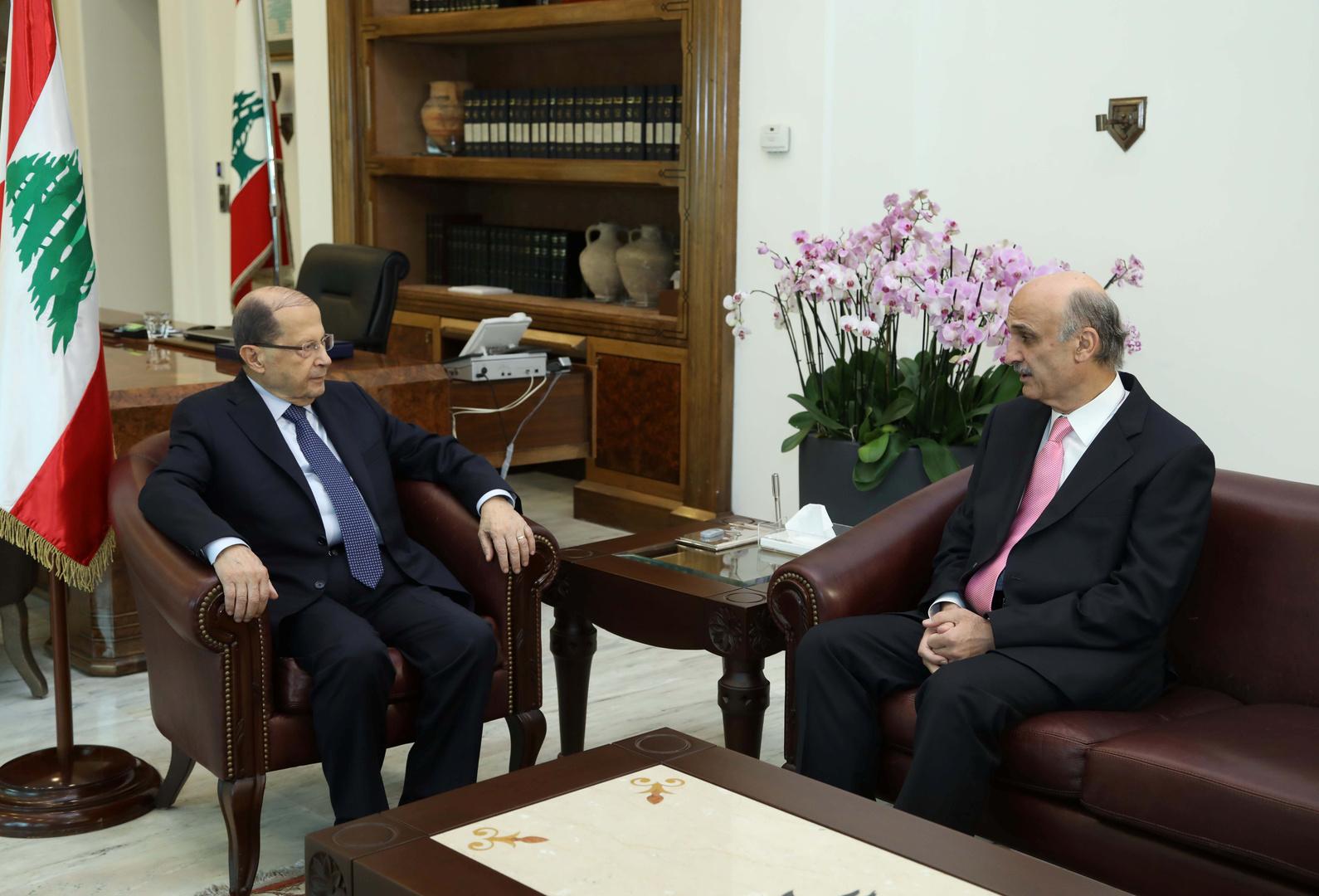 صحيفة: الرئيس اللبناني طلب من جعجع