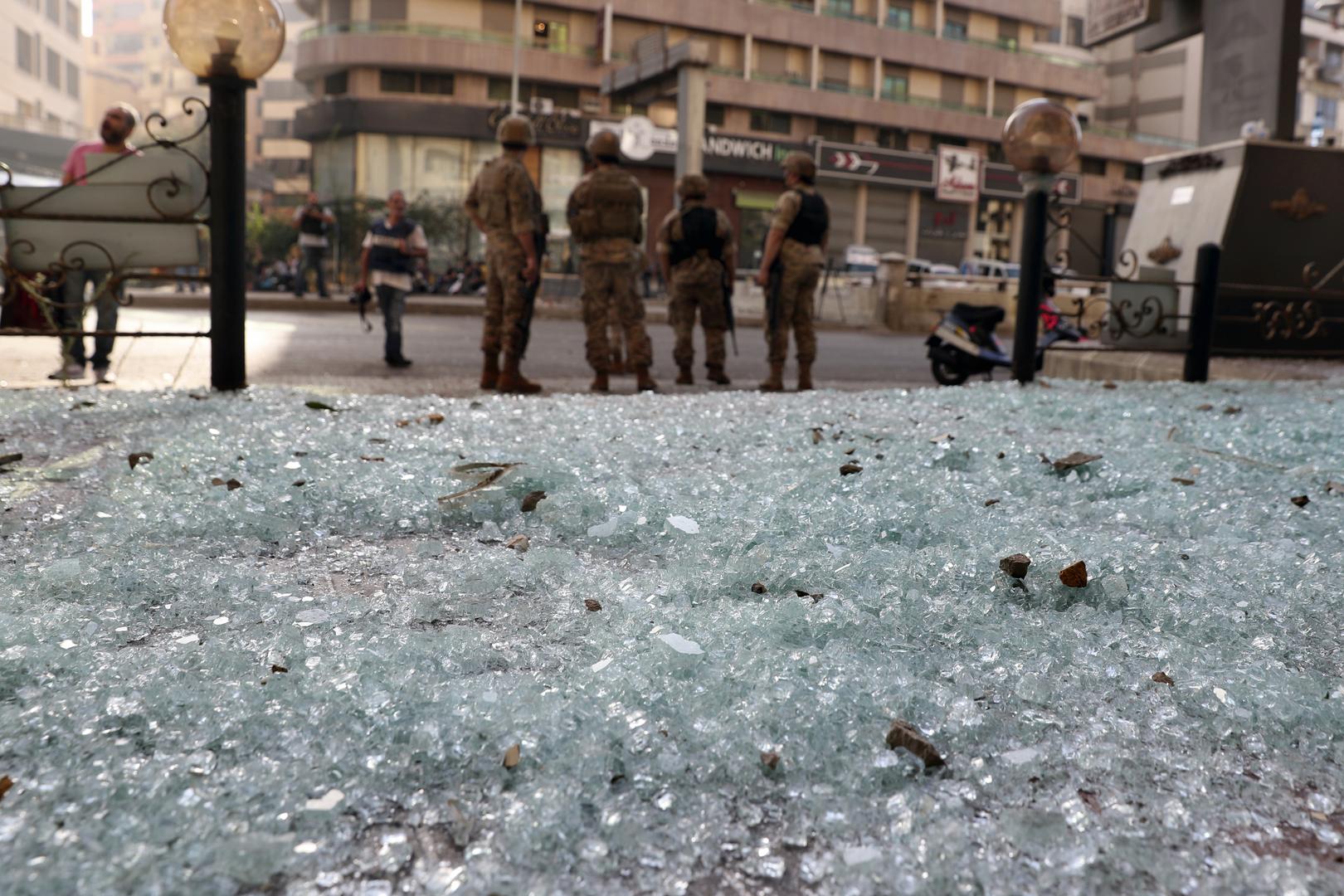 قتلى وجرحى باشتباكات في بيروت على خلفية احتجاج لحزب الله و