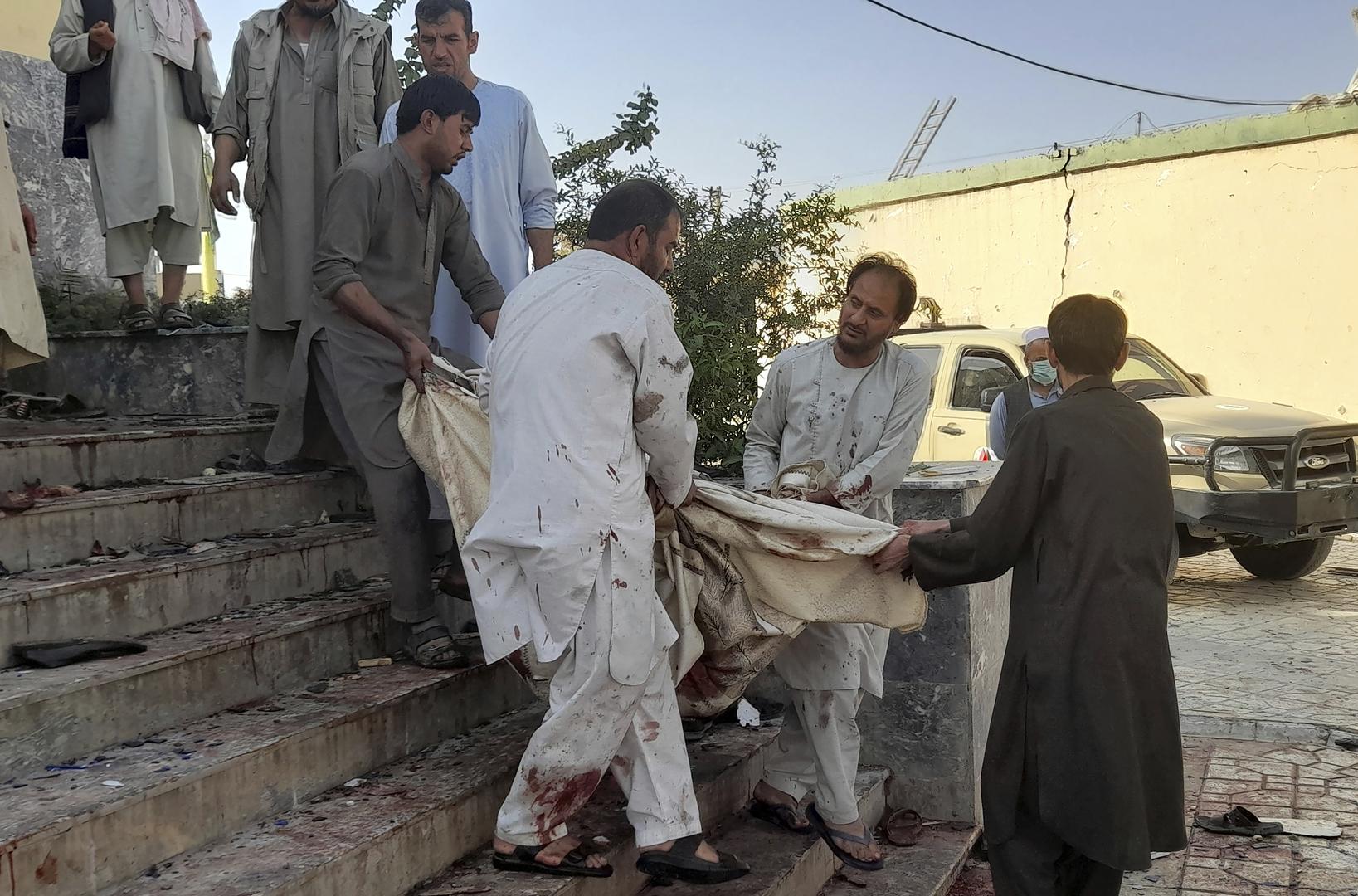 تركيا تستنكر الهجمات الأخيرة على مساجد في أفغانستان