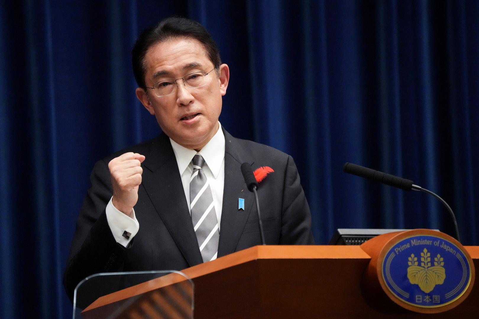 رئيس وزراء اليابان الجديد، فوميو كيشيدا.