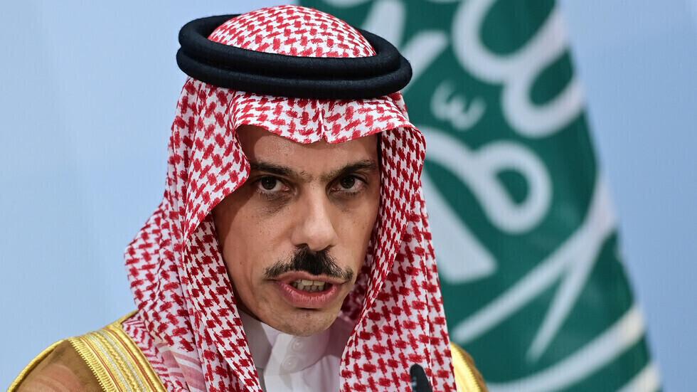 وزير الخارجية السعودي، فيصل بن فرحان آل سعود.