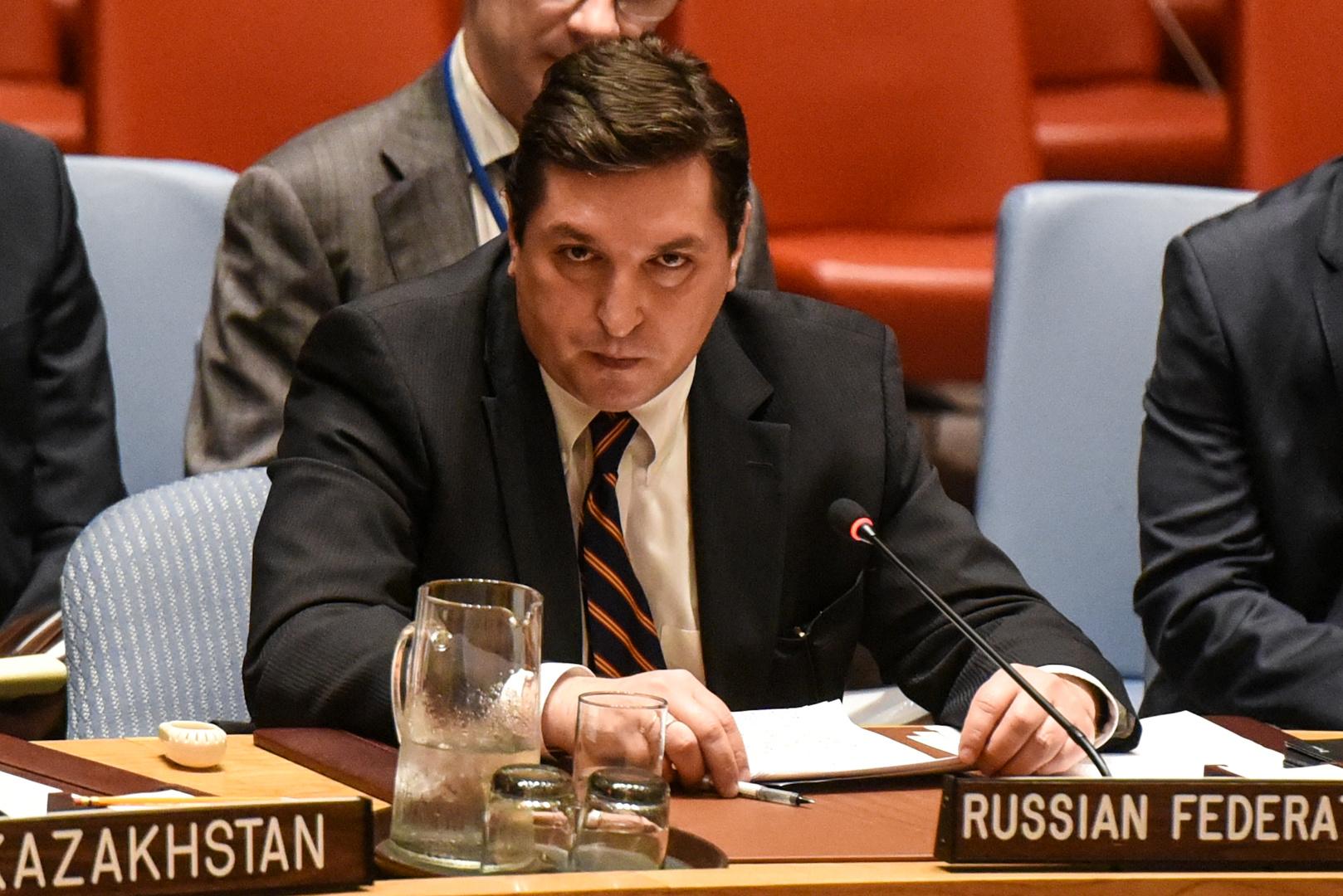 المبعوث الخاص لوزير الخارجية الروسي فلاديمير سافرونكوف