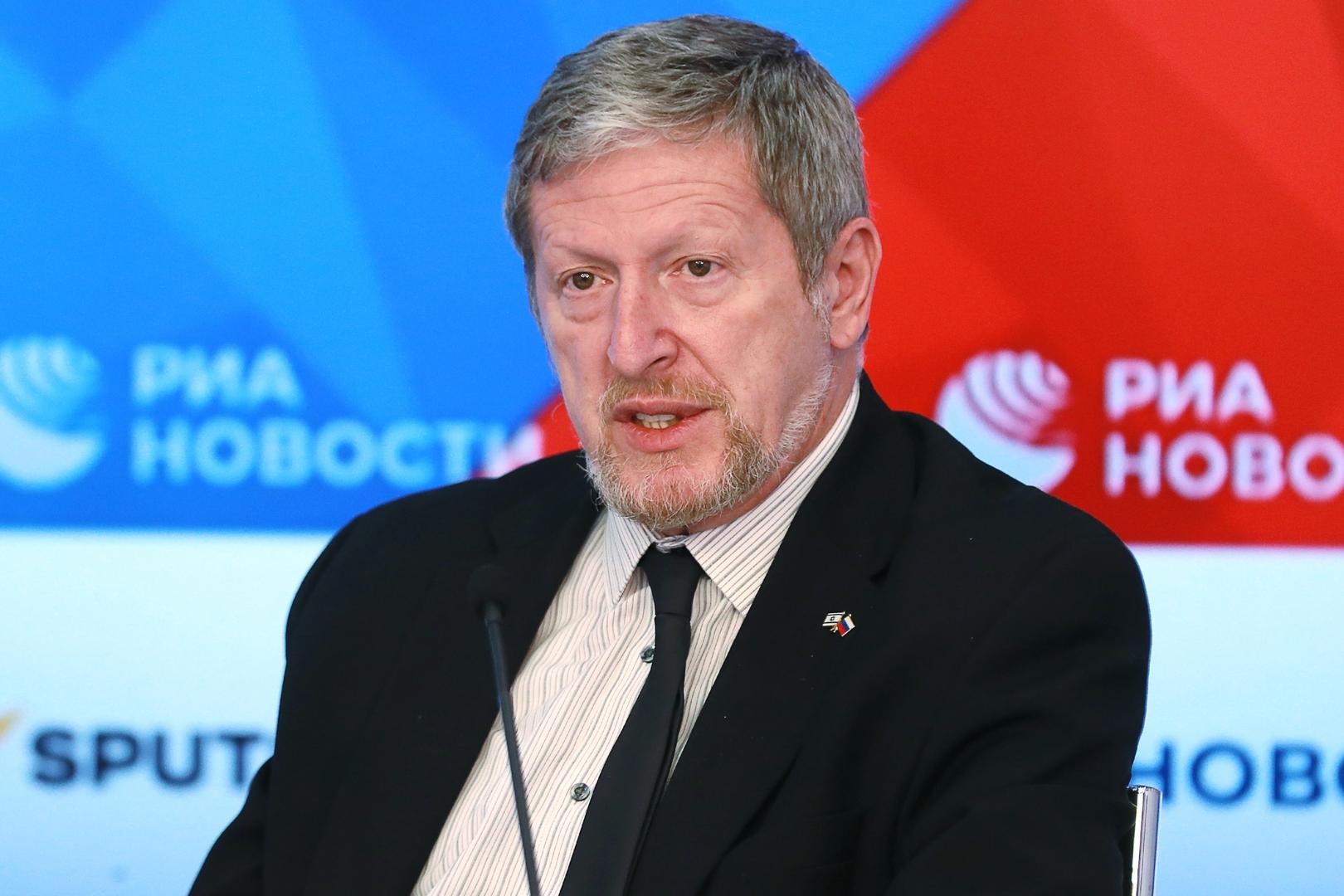 السفير الإسرائيلي لدى روسيا، ألكسندر بن تسفي