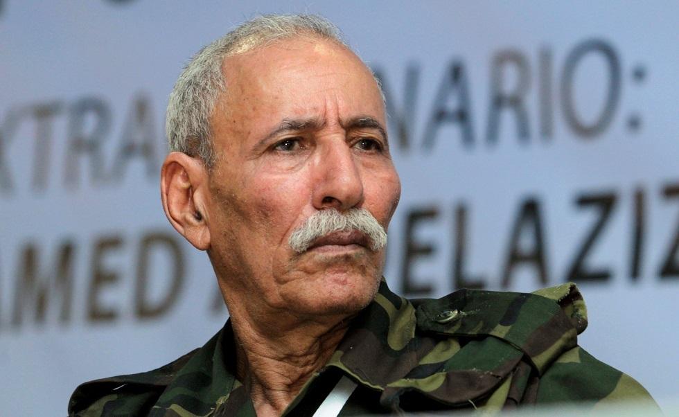 زعيم جبهة البوليساريو إبراهيم غالي