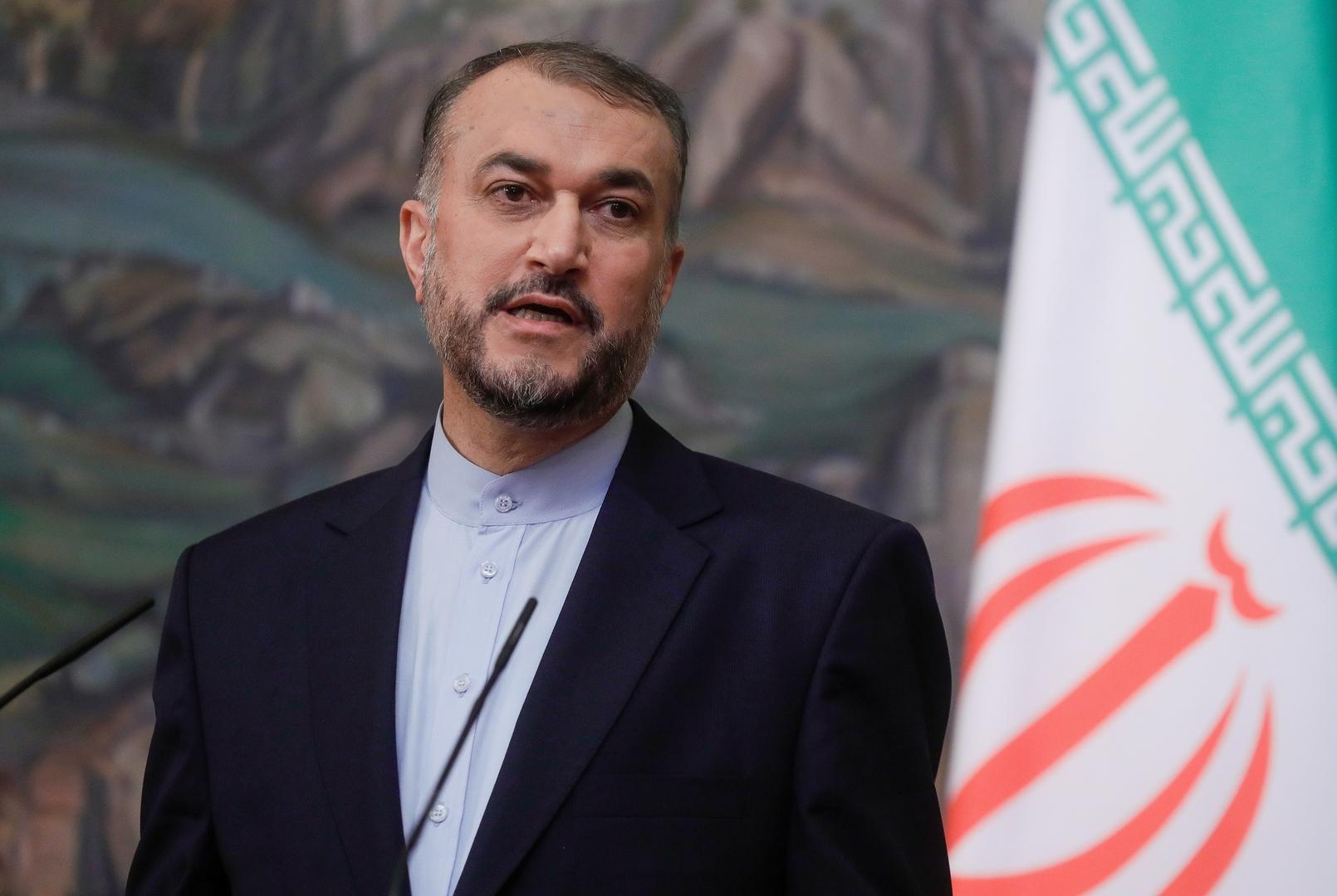 إيران تطلب من الأمريكيين