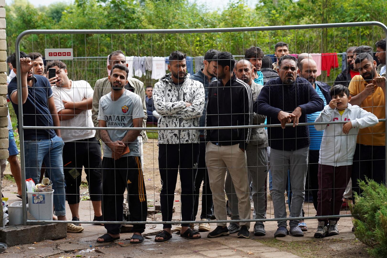 مهاجرون عبروا حدود ليتوانيا بطريقة غير شرعية قادمين من بيلاروس