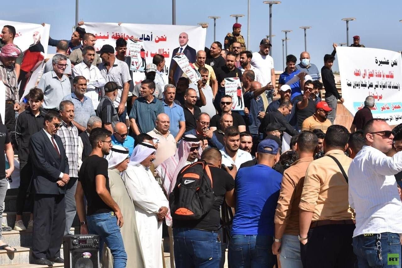 مراسلنا: احتجاجات في العراق وتصعيد اعتراضا على نتائج الانتخابات (فيديو + صور)