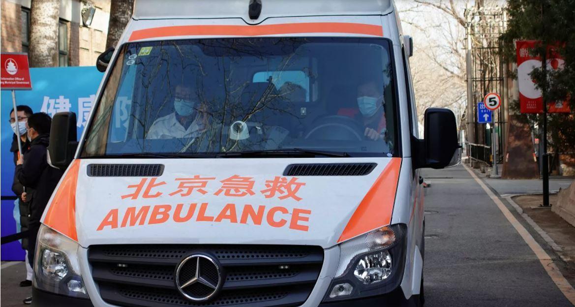 سيارة إسعاف في الصين