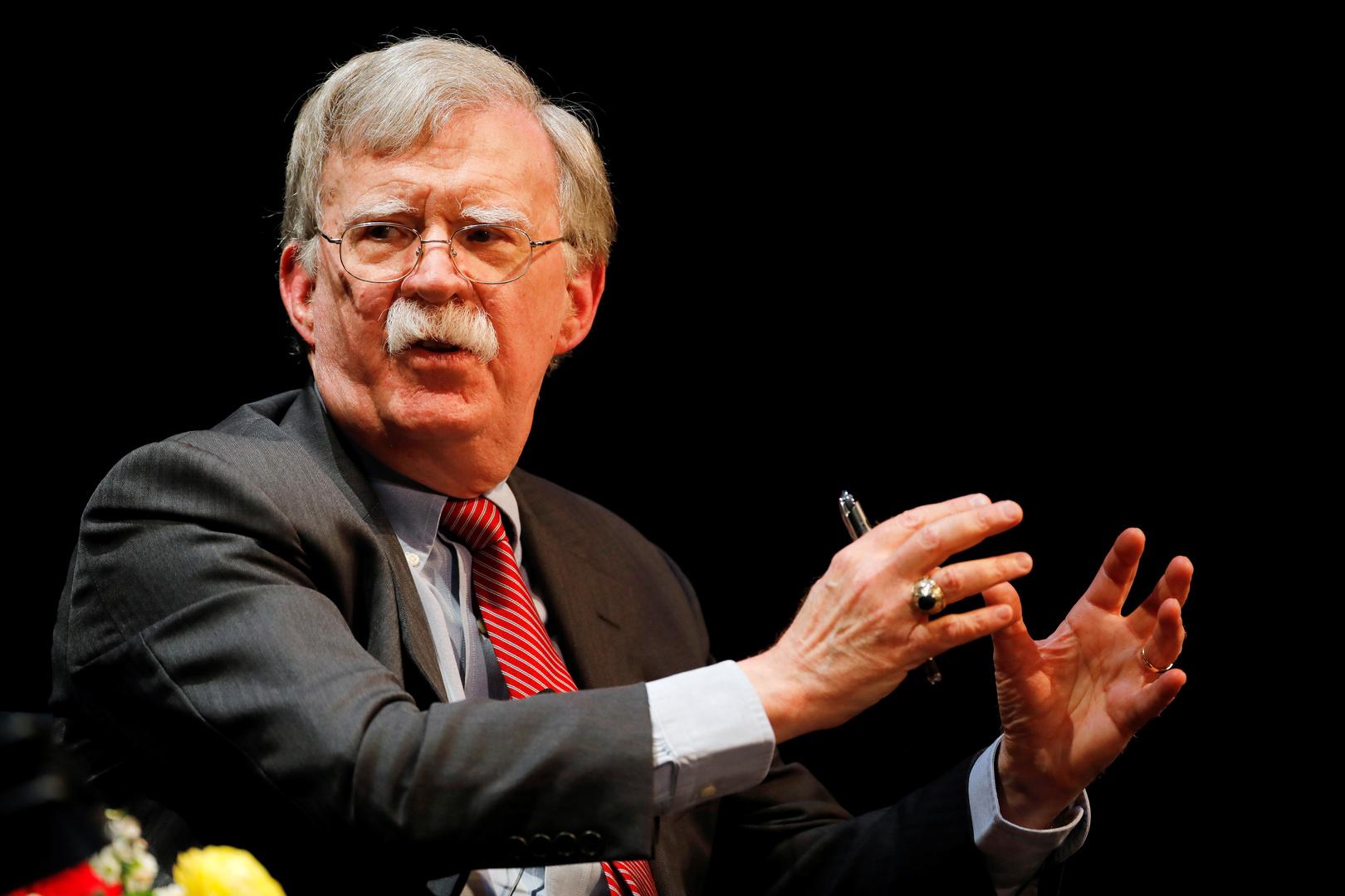بولتون يوضح مغزى تحذيره من إمكانية وصول طالبان إلى 150 قنبلة نووية