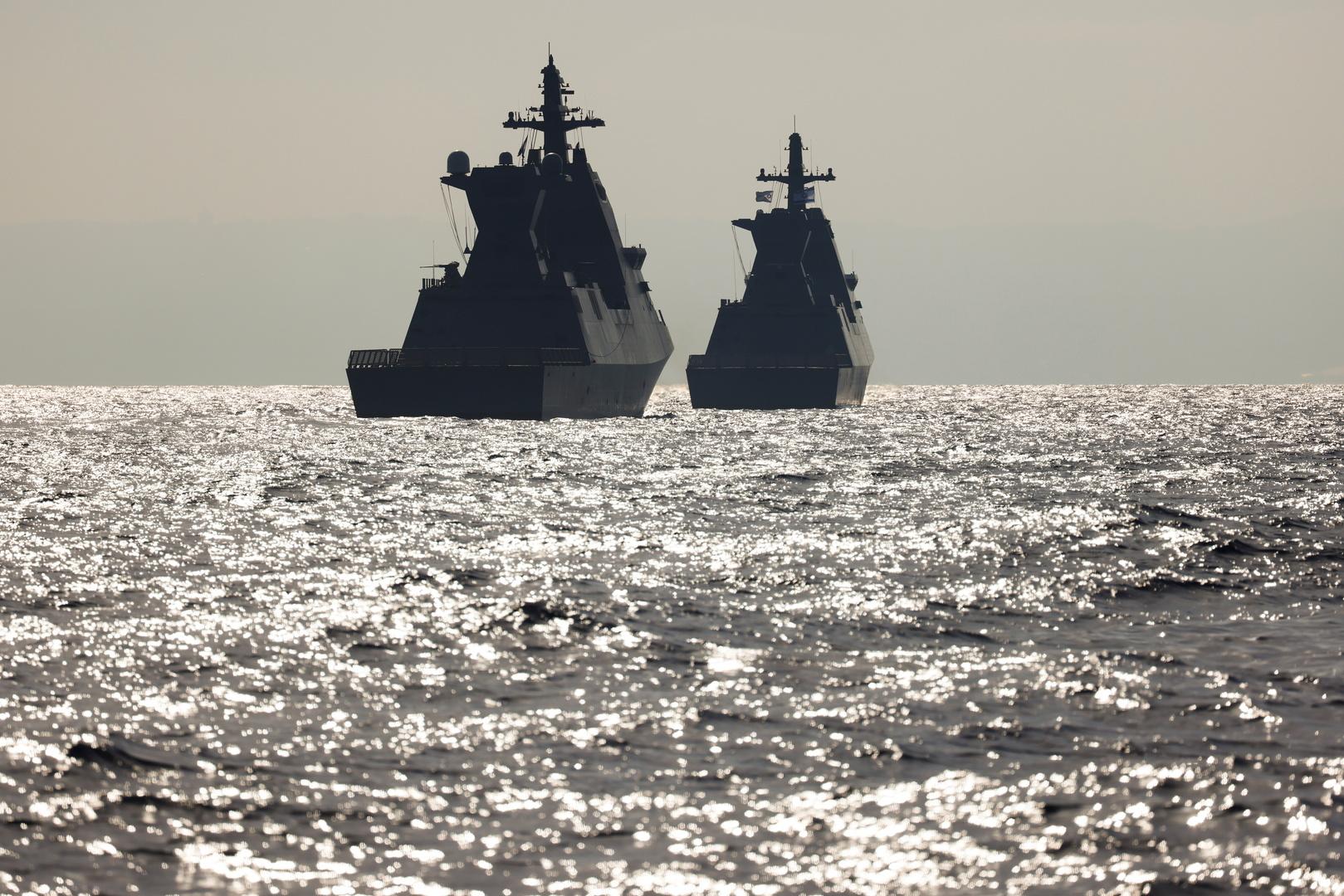 سفن حربية إسرائيلية