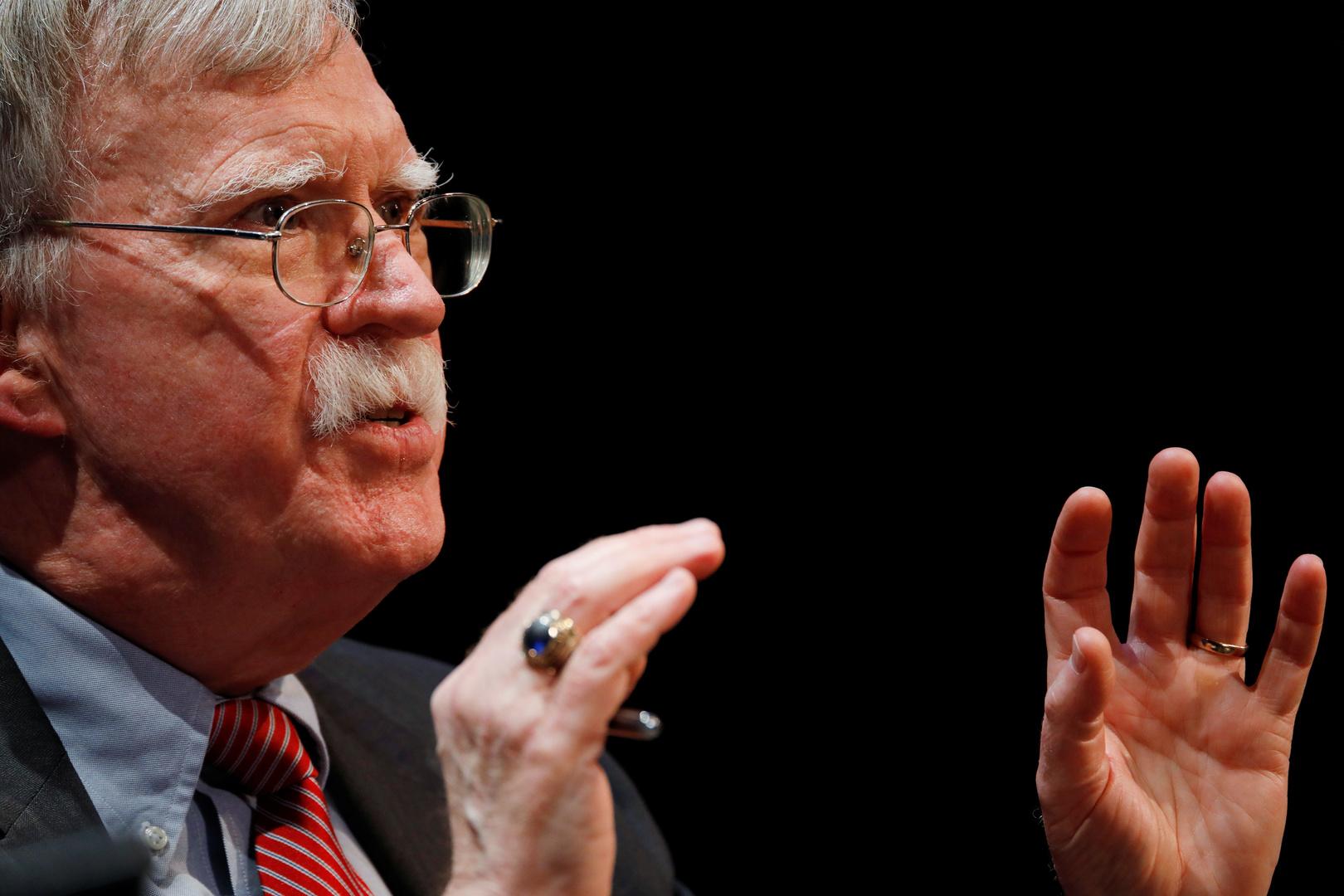 بولتون يقترح حل المشكلة النووية مع إيران بـ