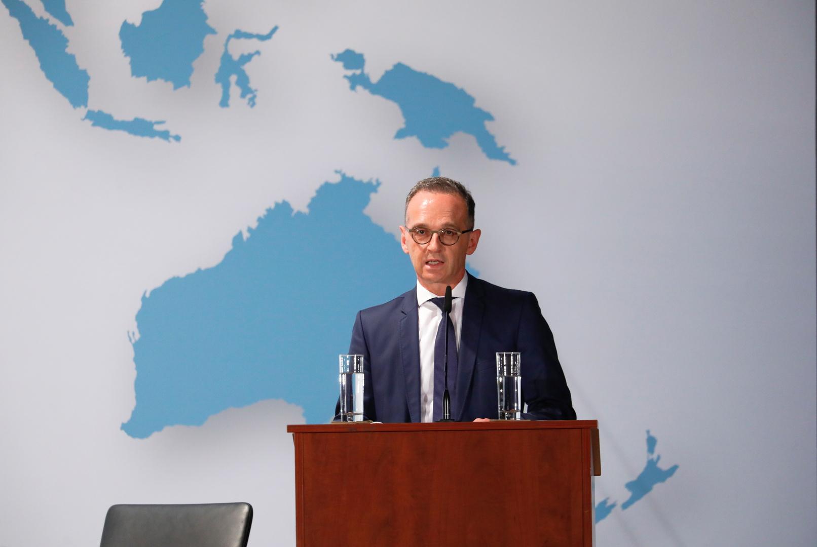 وزير الخارجية الألماني، هايكو ماس.