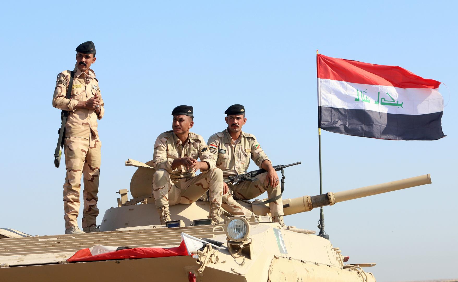 عناصر في الجيش العراقي.
