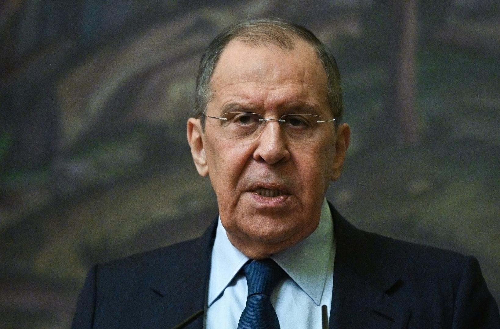 لافروف يكشف تفاصيل المباحثات مع طالبان