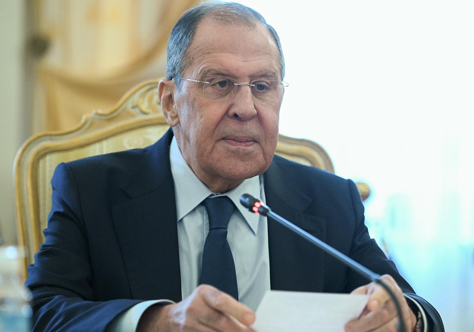 لافروف يدعو إلى تكييف مجلس الأمن مع الحقائق العالمية الجديدة
