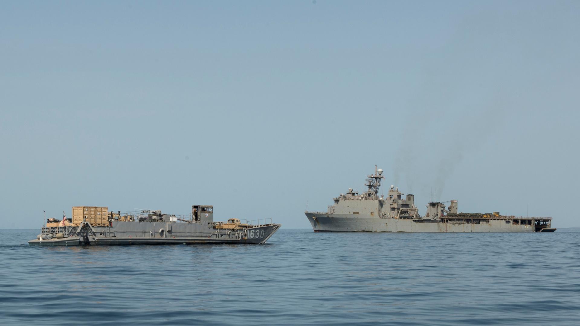 مناورة بحرية مشتركة بين كوريا الجنوبية والاتحاد الأوروبي وسلطنة عمان لمكافحة القرصنة