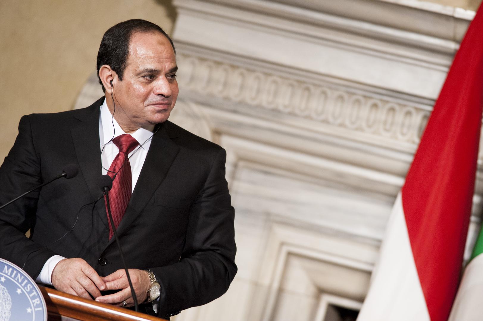السيسي: قضية المياه مصيرية بالنسبة لمصر